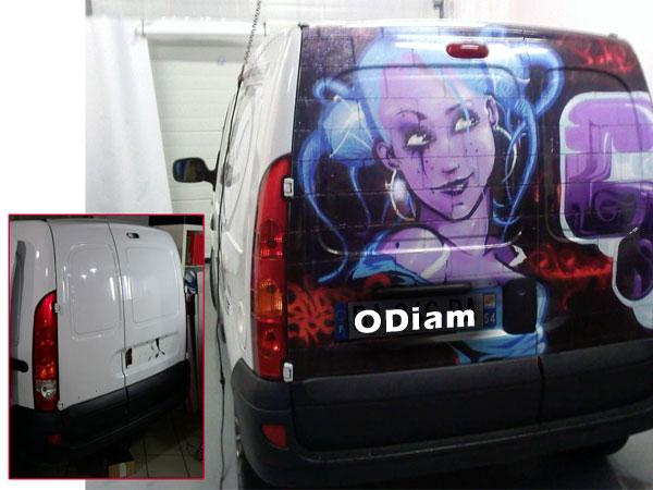 Film de décoration voitures