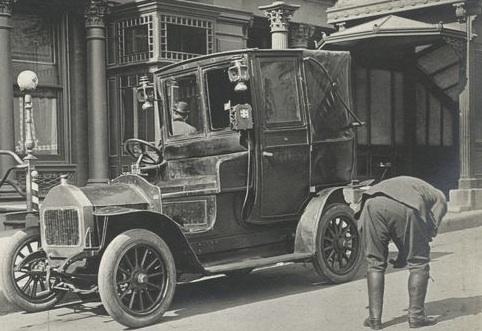 Premier taxi américain (1896)