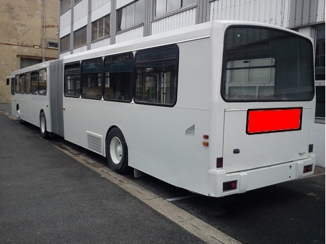PLV électroluminescente pour autobus