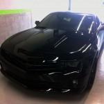 Carrosserie d'une Chevrolet Camaro toutes options