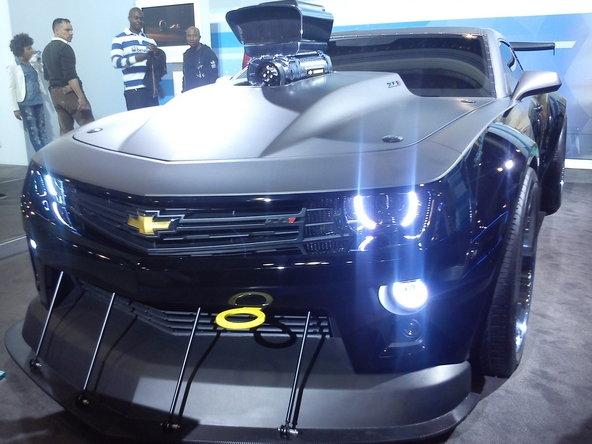 Chevrolet Camaro électroluminescente