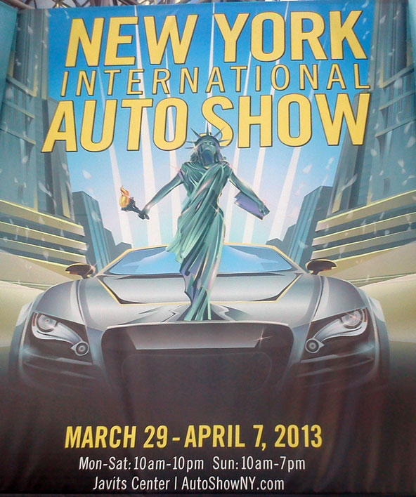 Autoshow NYC Manhattan 2013